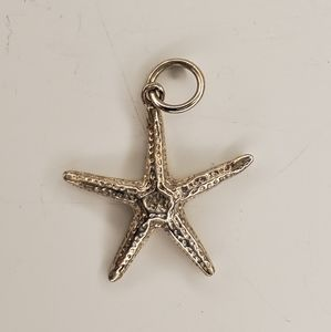 Sterling starfish pendant